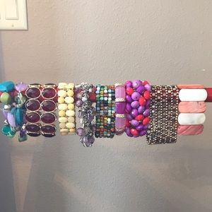Stretch Bracelet Lot